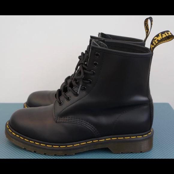 ee2a0daf598 Dr. Martens Shoes | Dr Martens 1460 Boots Smooth Black Mens Size 12 ...